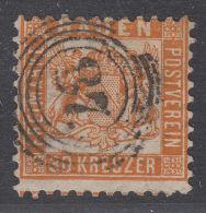 Baden 22 O - Geprüft -  Kat.Preis 2800 €  --1B1396-- - Baden