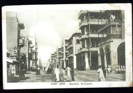 Cpa Egypte Port Said Quartier El Talatin       ROSC2 - Port Said