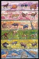 BURUNDI Mi.Nr. 702-725 I Tiere  - MNH