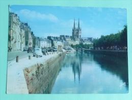 QUIMPER - Les Bords De L'ODET Et La Cathédrale - Quimper
