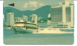 Macau-ship From Sea-(1macm013095)-(100units)-used Card+1 Card Prepiad Free - Macau