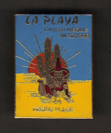 31404-pin´s.discotheque La Playa.Frejus.var.cactus.mexicain.2 Tacks.. - Villes