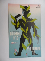 ANCIEN BUVARD / PUB  MEDICAMENT    RITAMINE  B12  - VIT HEMINE 12 - Papeterie