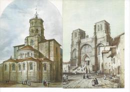 4 CPM - LE VELAY (62) Basilique Saint-Julien à BRIOUDE, Abbaye De La CHAISE-DIEU, Le Puy, Chateau De POLIGNAC Reproducti - Le Puy En Velay