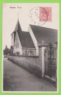 Kanne / Canne - Kerk  Gelopen 1952 - Riemst