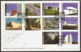 Portugal Architecture Contemporaine 2006 FDC Contemporary Architecture 2006 FDC - Altri