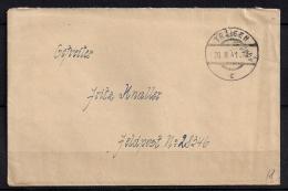 WWII ALEMANIA 1941, CORREO DE CAMPAÑA, FELDPOST Nº 28346, DESDE TRAISEN,  CORREO DE CAMPAÑA - Briefe U. Dokumente