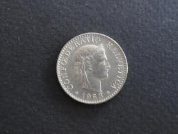1963 - 20 Rappen Suisse - 20 Centimes - Switzerland - Suiza