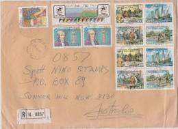 Italy 1996 Registered Cover Sent To Australia - 6. 1946-.. Republic