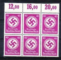 D.-Reich Nr.  6x D142  **  ( Y9245   )  Siehe Scan   ! - Unused Stamps