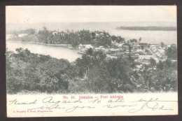 JM9) Port Antonio - General View - Posted 190? - Giamaica