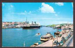 NLA11) Curaçao - Ocean Liner In Harbour - Mailed 1956 - Curaçao