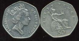 GRANDE BRETAGNE  50 Pence  1997 - 1971-… : Monnaies Décimales