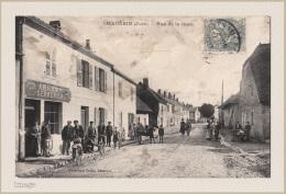 CHAUSSIN - Rue De La Gare - - Champagnole