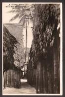 PA27) Narrow Street In San Blas Village, Panama - RPPC - Panama