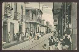 PE11) Puerto De Paita - Street Scene - Mailed 1928 - Perù
