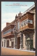 PE13) Lima - Palacio Colonial De Los Marqueses De Towe Y Tagle - Perù