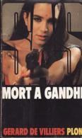 Mort à Gandhi Gérard De Villiers - SAS