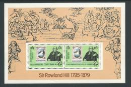 1979 Joint Issue Mini Sheet  Sir Rowland Hill 1795-1879 2 X 20 FNH In Mini Sheet MUH - English Legend