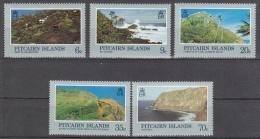 Pitcairn Islands   Scott No.  198-202   Mnh   Year 1981 - Pitcairn Islands