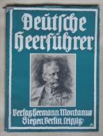 Livre De Photos Deutsche Heerführer Iere Guerre Mondiale 1915 Superbe Avec Jaquette - Documenti