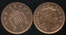 GRANDE BRETAGNE ( Royaume Uni )   One 1  Penny  1999 - 1971-… : Decimal Coins