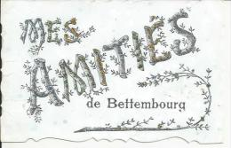 LUXEMBOURG... Mes Amitiés De BETTEMBOURG.... PAILLETTE - Bettembourg