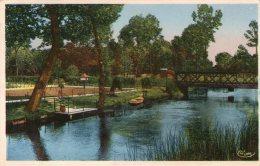 BRAY-sur-SOMME - Pont Du Tortillard Sur  La Somme - - Bray Sur Somme