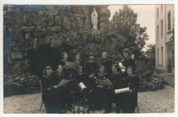 Habay-la-Neuve Carte Photo Pensionnat 2e Professionnelle 1936 - Habay
