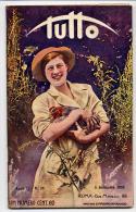 Rivista Del 1920  SARDEGNA Costumi Di Nuoro Tonara Desulo  +  LUCERNA Luzern Lucerne Svizzera - Libri, Riviste, Fumetti
