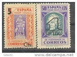 ESBE27-L4123TPRSC.BENEFIC ENCIA.PEDAGOGOS HABILITADO.1938   (Ed 27/8** ) GOMA ORIGINAL.SIN CHARNELA.MAGNIFICA - Sin Clasificación