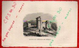 Eaux Fortes - RUINES DU CHATEAU DE CREQUY - 62 Pas De Calais - Rauch Del. / Ransonnette Sc. - Prints & Engravings