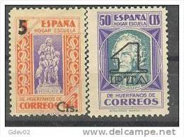 ESBE27-L4123TPRO.BENEFICE NCIA.PEDAGOGOS HABILITADO.1938   (Ed 27/8** ) GOMA ORIGINAL.SIN CHARNELA.MAGNIFICA - Otros