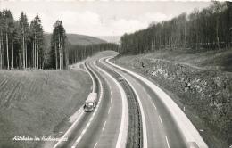ROHRBRUNN / Aschaffenburg - 1962 , Autobahn Im Hochspessart - Posthilfsstellenstempel - Ohne Zuordnung