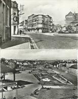 Athus - Rue Du Centre - Grand´Rue Et Place De La Gare - 1958 Et 1959 ( Voir Verso ) - Aubange