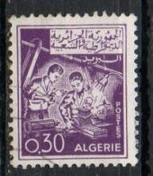 Algeria 1965 - Sviluppo Sociale Social Development Lavoratori Al Tornio, Workers On The Lathe - Algeria (1962-...)