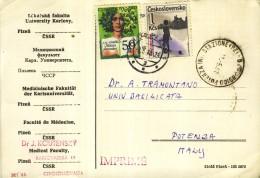 CESKOSLOVENSKO    MEDICINA   ISTITUTO DI RICERCA  A  POTENZA  DOTTORE  DOCTOR  SALUTE - Salute