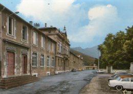 GRAISSESSAC - La Mairie - 195....(Vieilles Voitures) - Non Classés