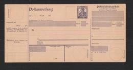 Saar Postanweisung 15 Pfennig Type I Ungebraucht - Abstimmungsgebiete