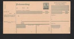 Saar Postanweisung 40 Pfennig Type I Ungebraucht - Germania
