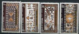 Wallis Et Futuna              PA   58/61  **    Artisanat - Ungebraucht