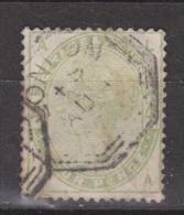 Engeland United Kingdom, Great Britain, Angleterre, Bretagne, Queen Victoria, SG 192, Y&T 81, MICHEL 77 - 1840-1901 (Victoria)