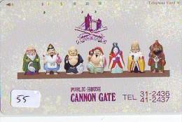 Télécarte Japon / 110-154 * Religion *  7 Dieux Du Bonheur (55) Luck Gods * Japan Phonecard * Telefonkarte - Werbung