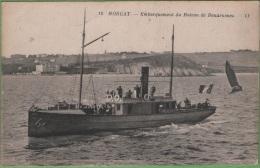 29 MORGAT - Embarquement Du Bateau De Douarnenez - Morgat
