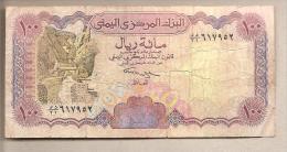 Yemen - Banconota Circolata Da 100 Rials - Yemen