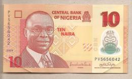 Nigeria - Banconota Circolata Da 10 Naira P-39a.2.2 - 2009 #19 - Nigeria