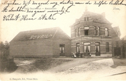 Hove : Café Cantecroy  --  Aannemer 1908 - Hove