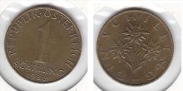 1 SCHILLING 1980 - Autriche