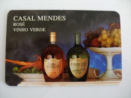 Drink Casal Mendes Rosé Caves Aliança Portuguese Pocket Calendar 1993 - Calendriers