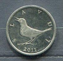 Monnaie Pièce CRAOTIE 1 Kuna De 2011 - Croatie